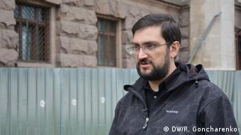 Journalist Sergey Dibrov