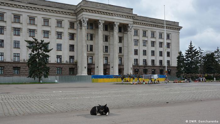 Ukraine Haus der Gewerkschaften in Odessa