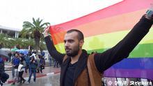 Tunesien Demonstration Gleichberechtigung Homosexualität