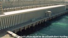 Ägypten Assuan-Staudamm in Ägypten