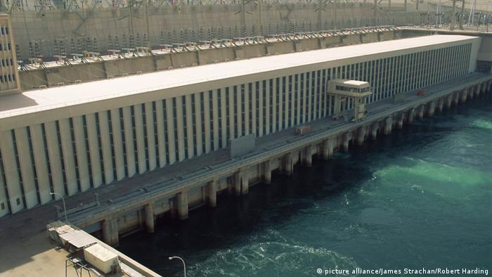The Aswan Dan Dam in Egypt