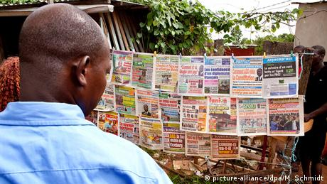 Symbolbild Afrika Presse