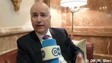Anis Birou, Marokkanischer Minister für Migration Copyright: DW arabisch Redaktion, Moncef Slimi Aufnahme datum: 20.04.2015 Berlin