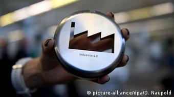 Industrie 4.0 pamje simbol
