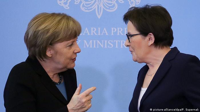 Анґела Меркель та Єва Копач