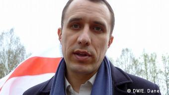 Белорусский оппозиционер Павел Северинец