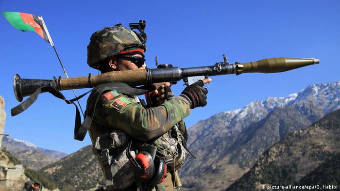 Afghanistan Afghan National Army Soldaten Symbolbild