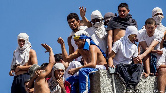 Venezuela Caracas, Gefängnisaufstand