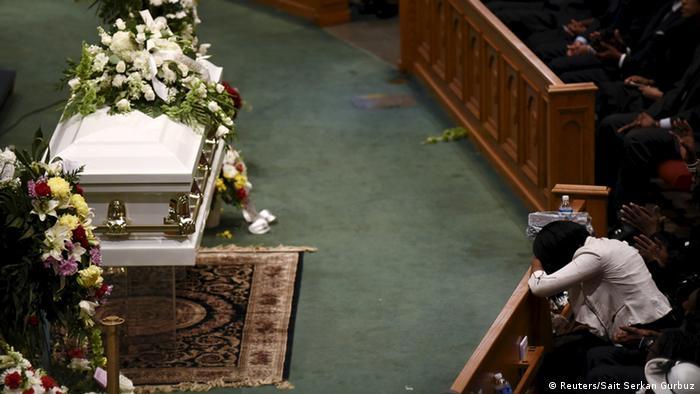 Похороны Фредди Грея