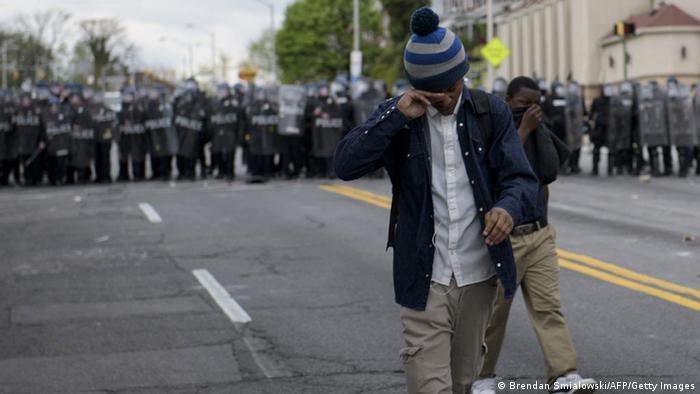 Беспорядки в Балтиморе