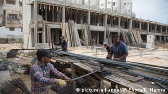 Ruined buildings in the Gaza Strip AP Photo/Khalil Hamra