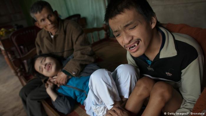 Vietnam Folgen von Agent Orange (Getty Images/P. Bronstein)