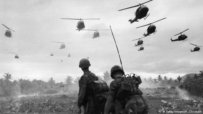 Vietnamkrieg (Getty Images/P. Christain)