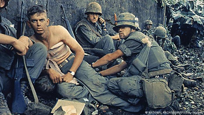 Soldiers in the Vietnam War
