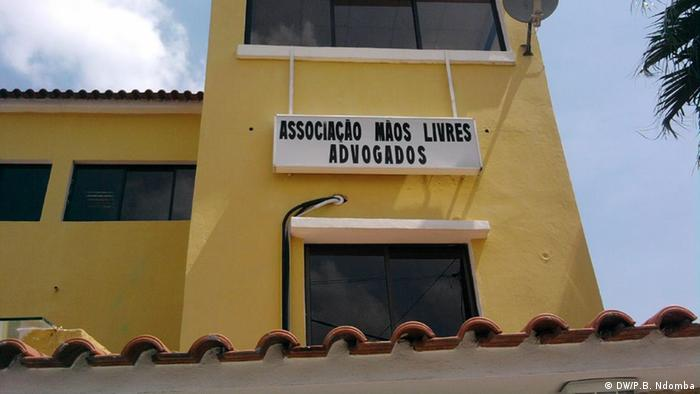 Angola Associação Mãos Livres in Luanda