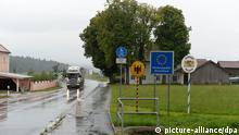 Deutschland Tschechien Grenzübergang bei Furth im Wald