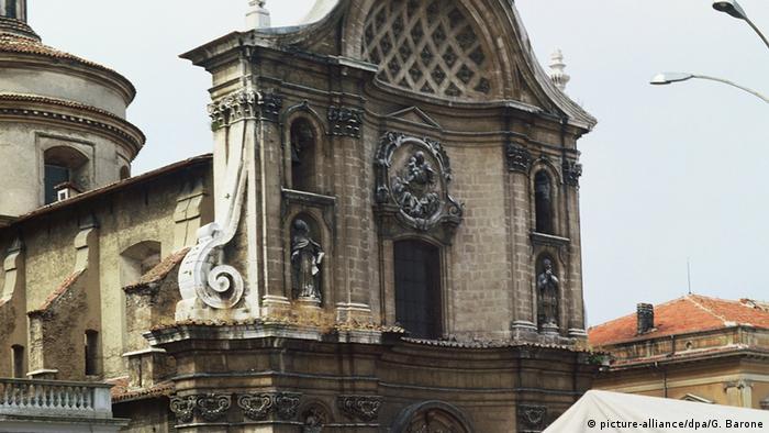Italien Stadt L'Aquila vor dem Erdbeben