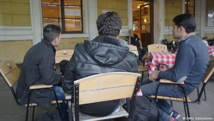 Serbien Belgrad Flüchtlinge aus Irak und Syrien