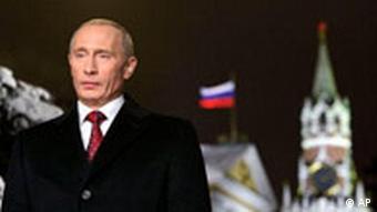 Neujahrsansprache Wladimir Putin Russland