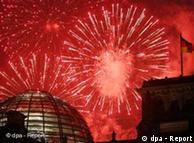 Новый год у Бранденбургских ворот
