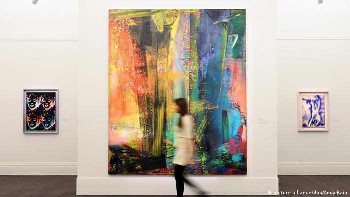 Gerhard Richter Abstraktes Bild 599