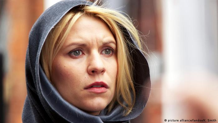 Film still from Homeland with actress Claire Danes, Copyright: picture alliance/landov/K. Smith
