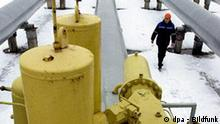 On the premises of Sudzha natural gas measuring station, a branch of Mostransgaz LLC in the Kursk Region on December 28. 2005. The station measures export gas flow piped across the Ukraine to Western Europe. Foto: Valery Morev 009 +++(c) dpa - Bildfunk+++