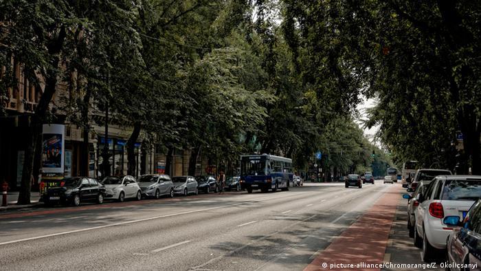Проспект Андраші в Будапешті