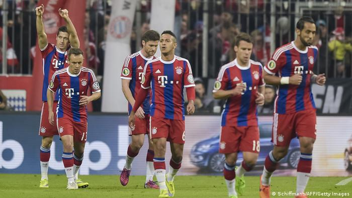 Fußball DFB-Pokal Halbfinale FC Bayern München vs. Borussia Dortmund