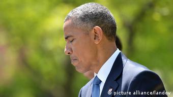 USA Obama verurteilt Ausschreitungen in Baltimore