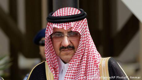 Saudi-Arabien Kronprinz Mohammed bin Naif (picture alliance/AP Photo/H. Ammar)