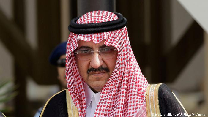 ولي العهد السعودي السابق محمد بن نايف