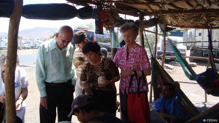 Elsie Monge in Honduras
