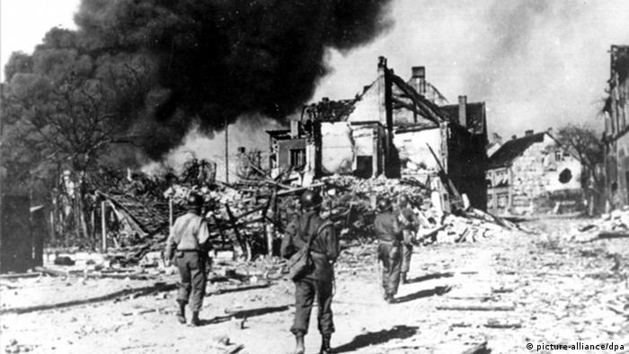 پایان جنگ جهانی دوم، ورود متفقین به خاک آلمان