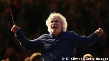 Berliner Philharmoniker Dirigent Simon Rattle mit Jugend Orchestra (D. Kitwood/Getty Images)