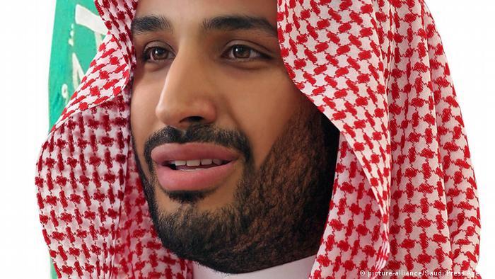 Saudi-Arabien desiginierter Verteidigungsminister Prinz Mohammad bin Salman bin Abdulaziz al-Saud