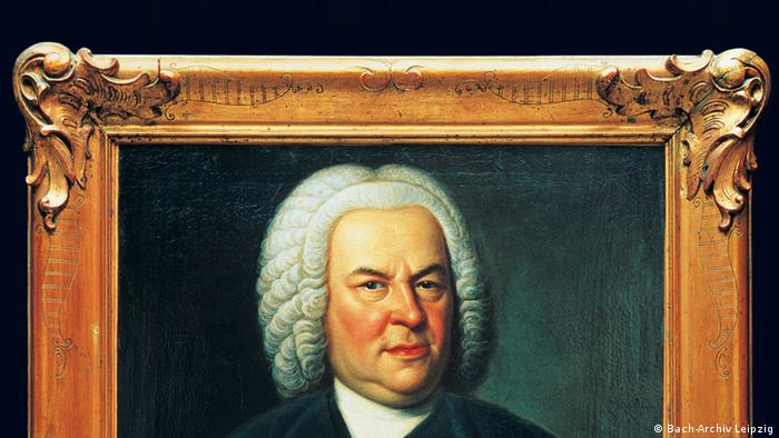 Bach-Portrait des Leipziger Malers Elias Gottlob Haußmann AUSSCHNITT (Bach-Archiv Leipzig)