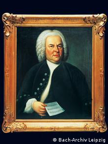 Portrait of Johann Sebastian Bach by Elias Gottlob Haussmann