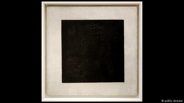 Crni kvadrat, 1915. 79 x 79 cm. Galerija Tretjakov, Moskva