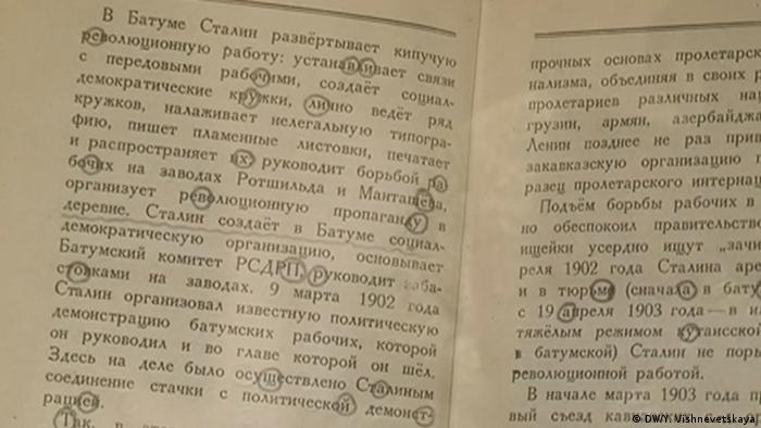 Russland versteckte Botschaft in Buch über Stalin