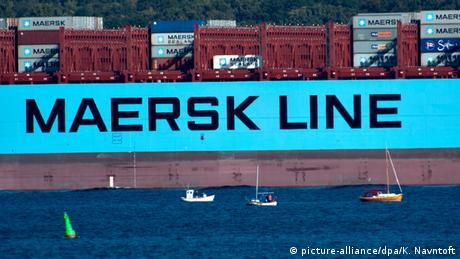 Schiff Danish A.P. Moeller Maersk ARCHIVBILD - NICHT DAS BOOT IM IRAN