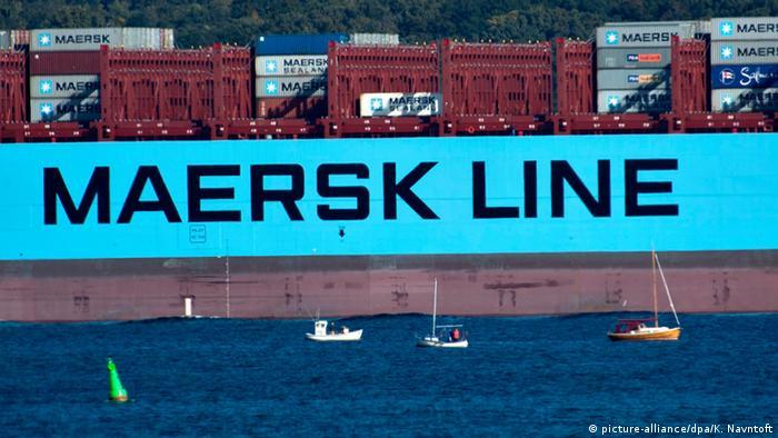 schiffe maersk line