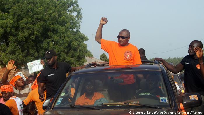 Togo Wahl Oppositonsführer Jean-Pierre Fabre