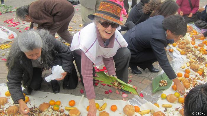 Elsie Monge Unterstuetzung der Landbevoelkerung