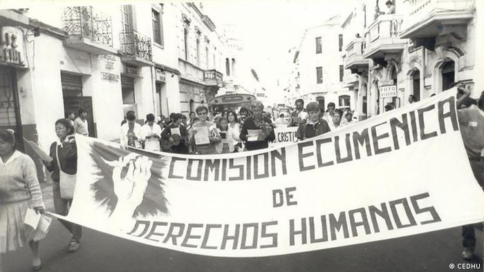 Elsie Monge 1987 Tag der Menschenrechte