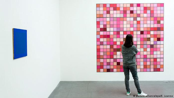 Vera Molnár: Pink et Rouge (1996)