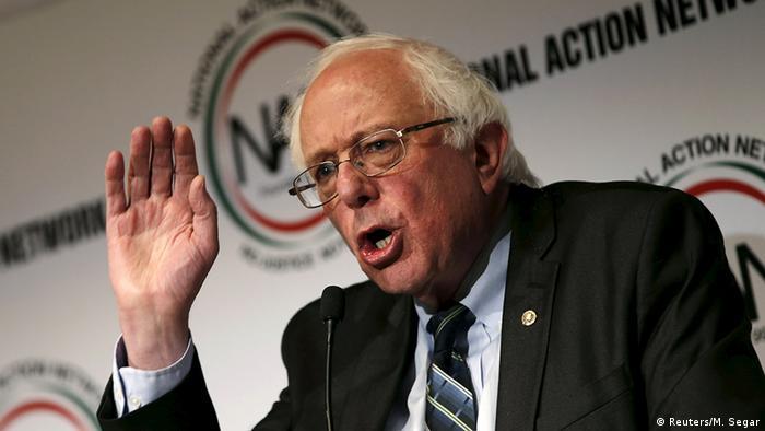 USA Demokraten Senator Bernie Sanders