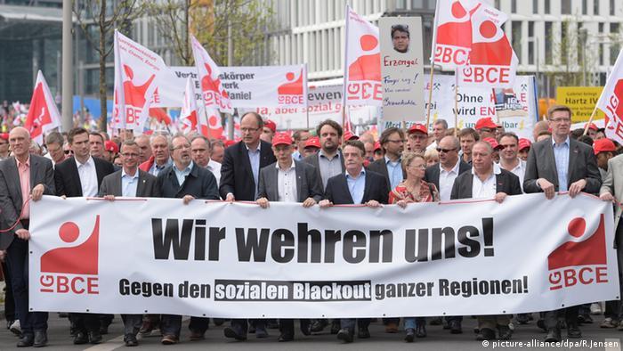 Berlin union demonstration against the coal levy (Photo: Rainer Jensen/dpa)