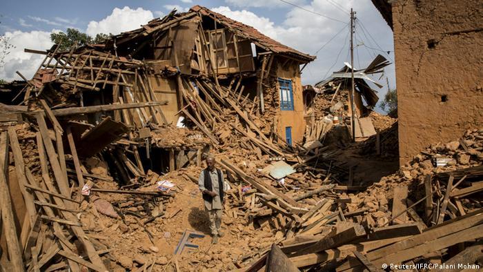 Bildergalerie Nepal Erdbeben Zerstörung Kathmandu