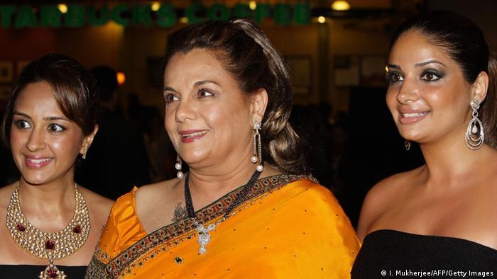 Indien Bollywood Schauspielerin Mumtaz (I. Mukherjee/AFP/Getty Images)